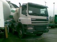 beton mixer daf mod.2005 10 km