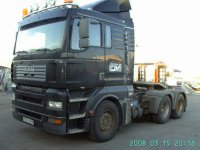 man 26833 6x4 rok 2004 black mavro
