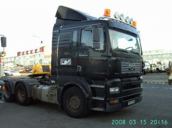 man 26833 6x4 rok 2004 black