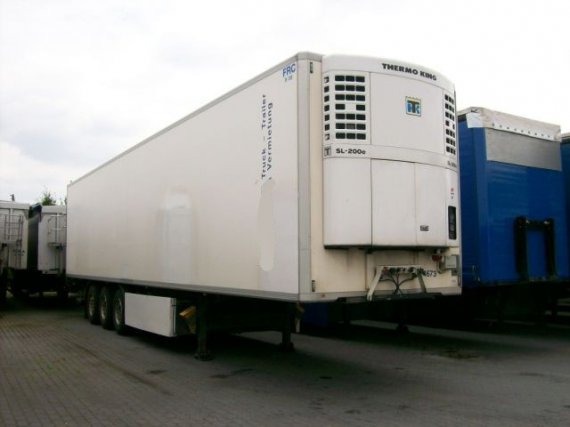 Krone, SDR27EL-S, návěs chladírenský standard, nosič palet, 2002, 708 000 km