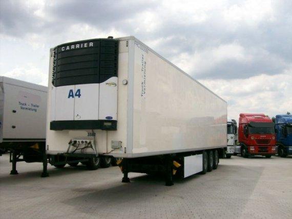 Krone, návěs chladírenský standard, nosič palet, 2003, 303 000 km