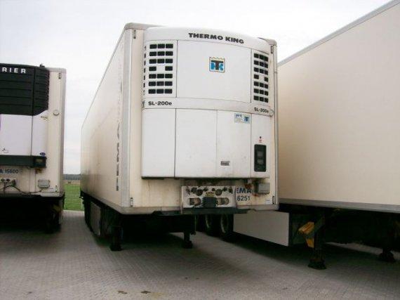 Krone, návěs chladírenský standard, nosič palet, 2003, 576 000 km