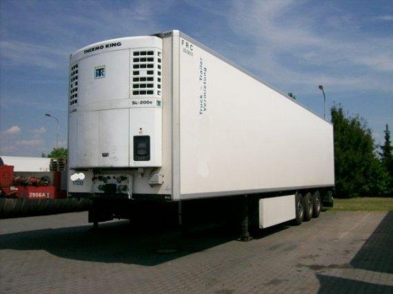 Krone, SDR27EL-S návěs chladírenský standard, nosič palet, 2004, 471 499 km