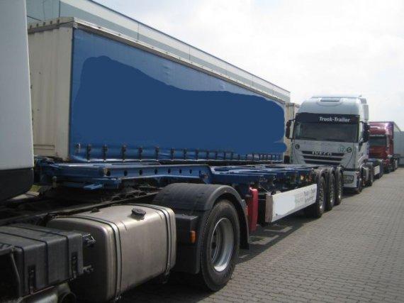 Krone, 3-Achs Containerchassis 45´ Krone, 2007, 84 000 km