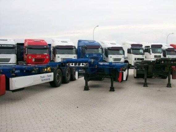 Krone, 3-Achs Containerchassis 45´ Krone, 2007, 64 000 km