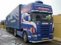 Scania 164.580PK, topline, rok 2002/2003, 550 000km