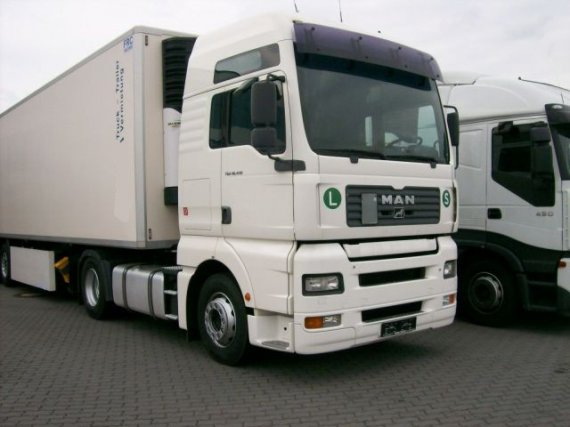 MAN 18.413 FLS SZM XXL Fahrerhaus, Euro 3, klima, 2004, 436 000 km