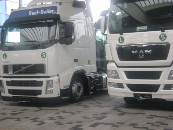 Volvo and MAN, NEW