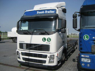 VOLVO FH12 6X2 R, nákladní automobil, 6x2 1000/1320 pre Nosič výmenných nástavieb, 2003, 607 101 km ,  Euro 3,klima