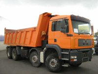 MAN 8X4 Kypers rok 2003/2004, 270 000 - 300 000 km