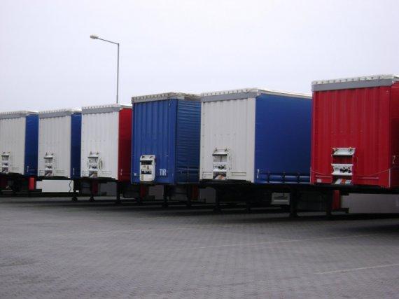 Collection of NEW trailers Kogel, Krone, Schmitz