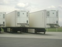 Different Trailer cooling with thermoking motor