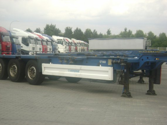 Trailer, Krone for containers, NEW & USED