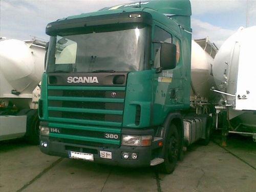 scania 114, 380KW,MOD, 2003,retarder 25000 euro.