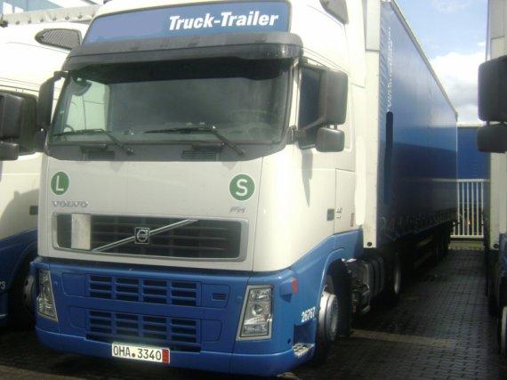 VOLVO FH 12 440, 2007, komplet spoilers, Xenons, Clima, XL Cabine EURO 5, low deck, + trailer Schmitz 2007