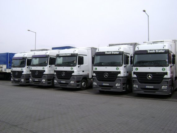Mercedes Actros 1844, year 2005,